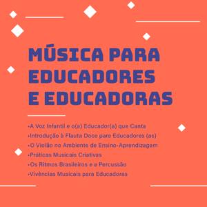 Música para Educadores e Educadoras